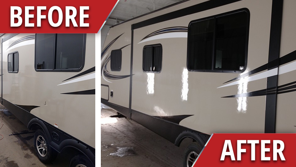 Poked a hole in your camper? We can help!