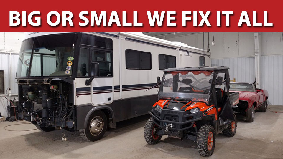 Big or small we fix it all.